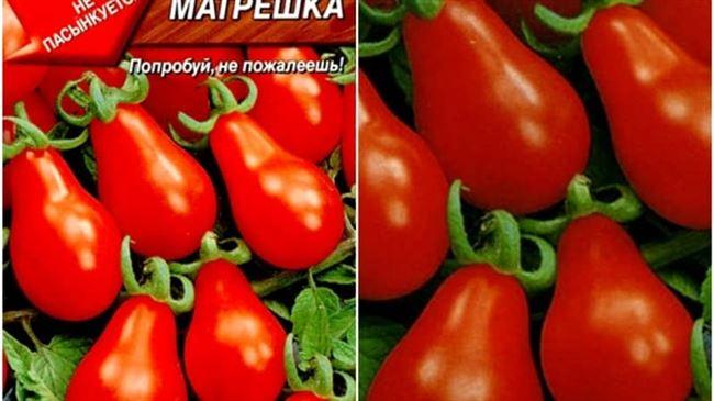 Описание и характеристика томата Матрешка, отзывы, фото