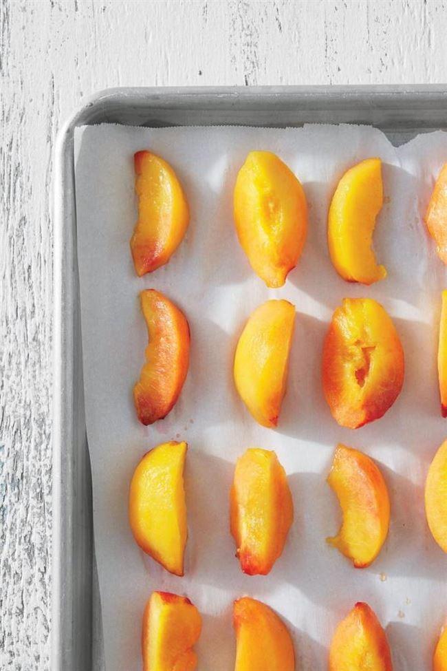 Хранение нектаринов в морозилке