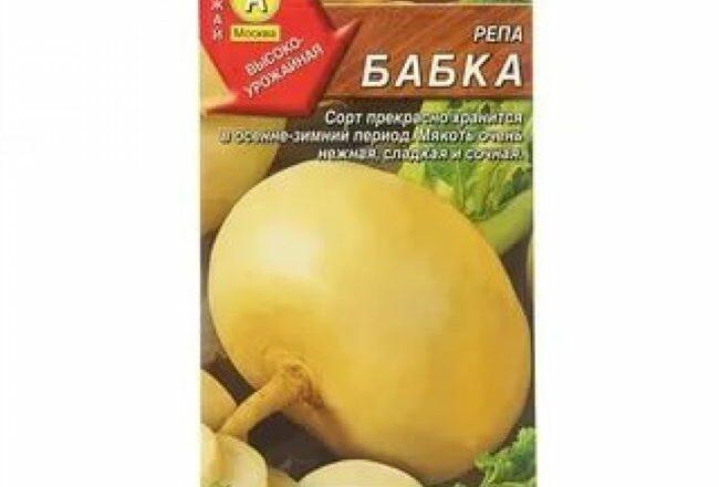 Репа Бабка — описание сорта, выращивание и отзывы